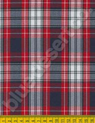 Plaid Fabric 610